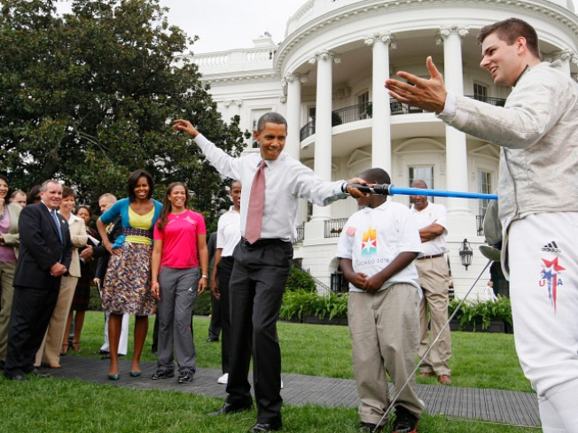 An Olympic Sized Party at the White House
