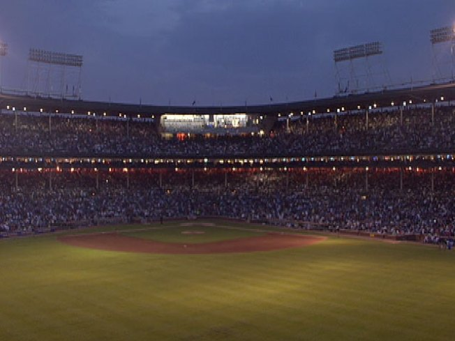Lights Out at Wrigley