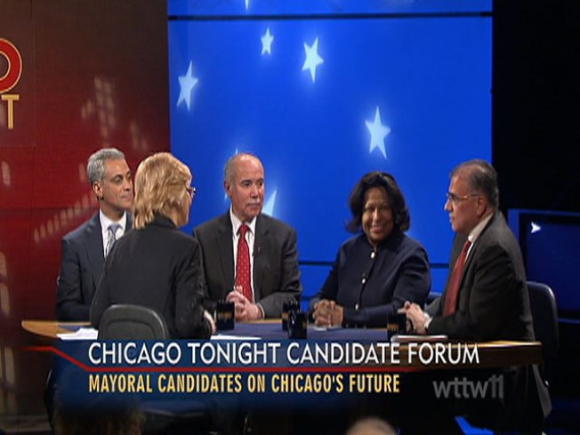 With 8 Days to Go, Candidates Debate