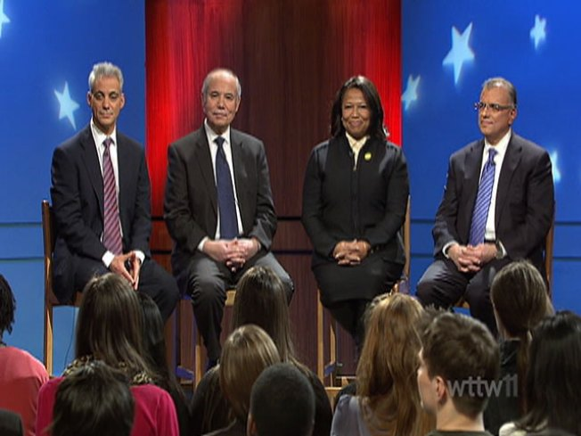 In Mayoral Forum, It's the Students Who Impress