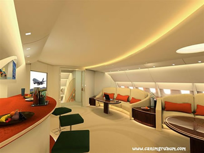 Now This is Flying: A380 Super Luxury Lounge & Suites