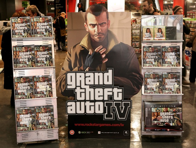 "'Grand Theft Auto"" Ads Return Just in Time for Holidays"
