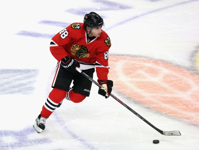 "Quenneville Hints at ""Good News"" Regarding Kane's Injury"