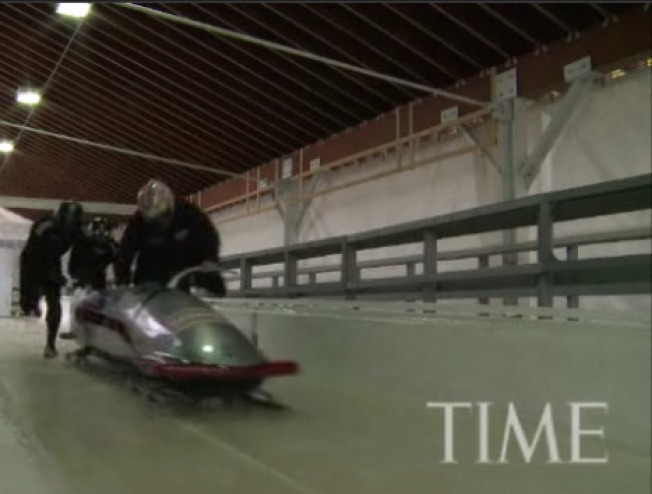Amazing Video: Training With the U.S. Four-Man Bobsled Team