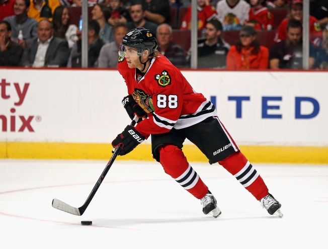 Kane Skates Friday, but Timetable for Return Hasn't Changed