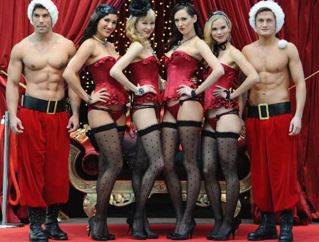 Sexy Santas Comin' to Town