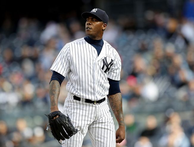 Aroldis Chapman Addresses Media Before Cubs Debut