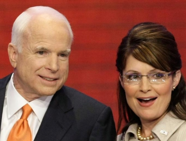 "McCain Upset by ""Vicious Attacks"" on Palin"
