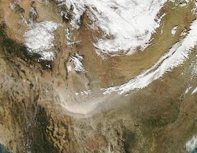 Satellite-Enhanced Dust Forecasts Aid Public Health Managers