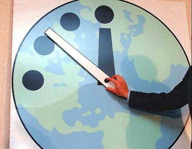 Got a Minute? Doomsday Clock Spares One