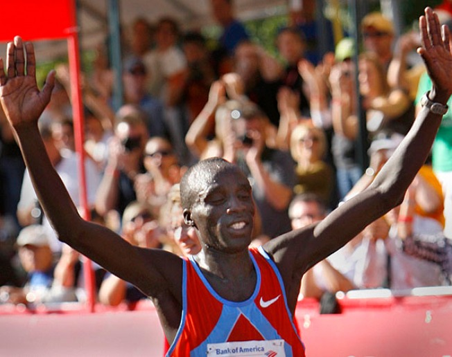 Kenyans Won, Two, Three in Chicago Marathon