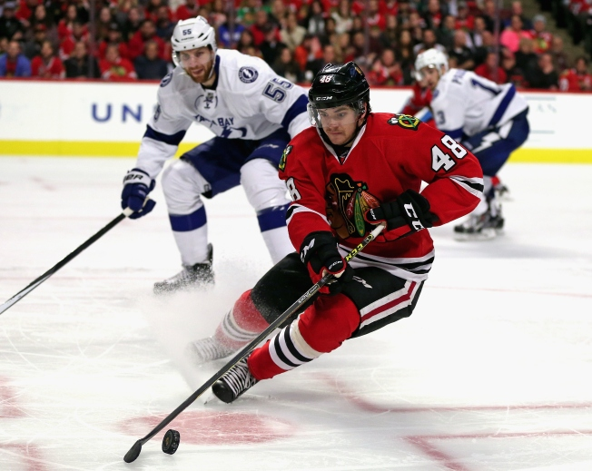 Blackhawks Demote Vincent Hinostroza to Rockford