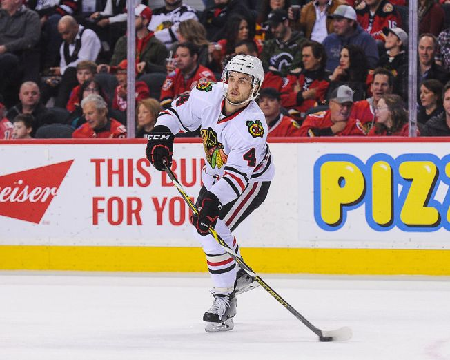 Niklas Hjalmarsson Suspended for Season Opener vs. Blues