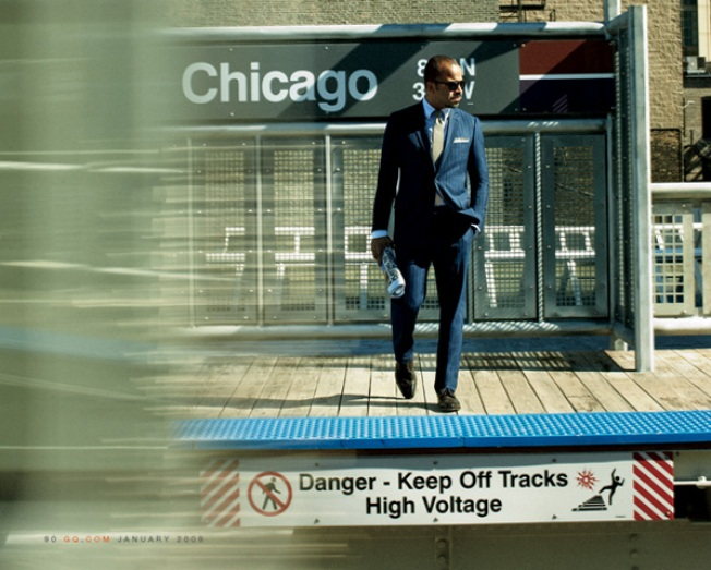 GQ Goes Blue in the Chi