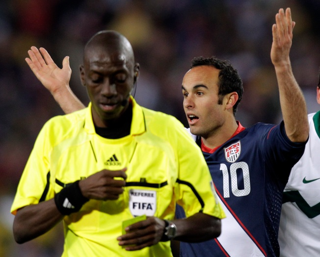 U.S. Soccer Stars, Blogosphere Slam World Cup Referee