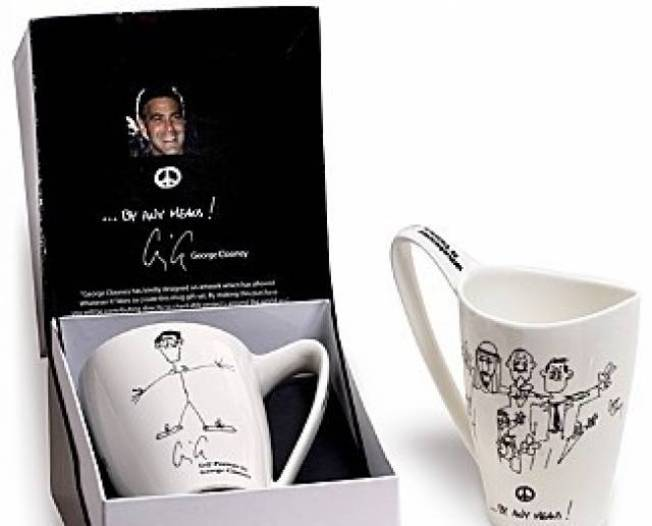 "Whatever It Takes ""George Clooney"" Mug"