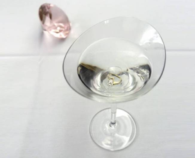The $10,000 Proposal Martini