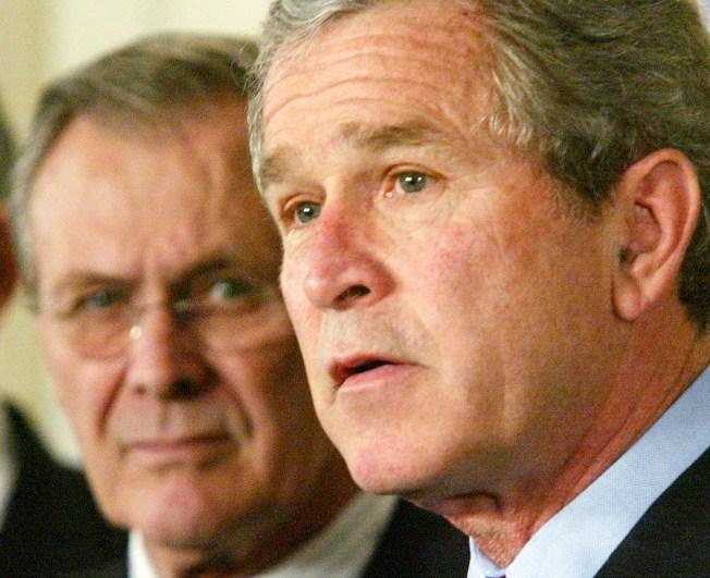 Rumsfeld Defends Handling of Iraq War in New Book