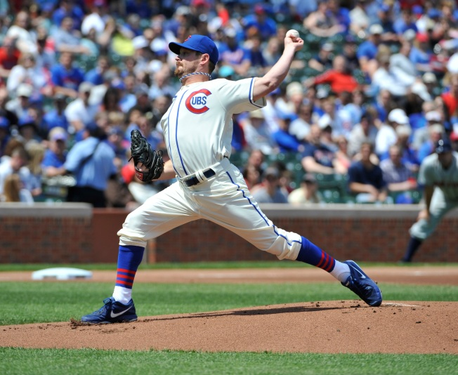 Travis Wood Pitches Cubs to 4-2 Win Over Brewers