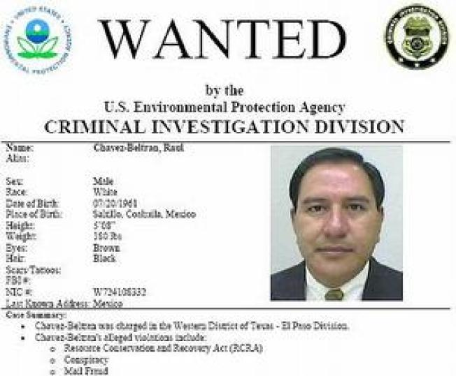 EPA's Most Wanted Fugitives Featured on New Website