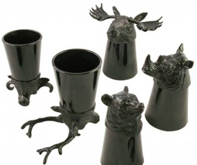 Animal-Head Shot Glasses