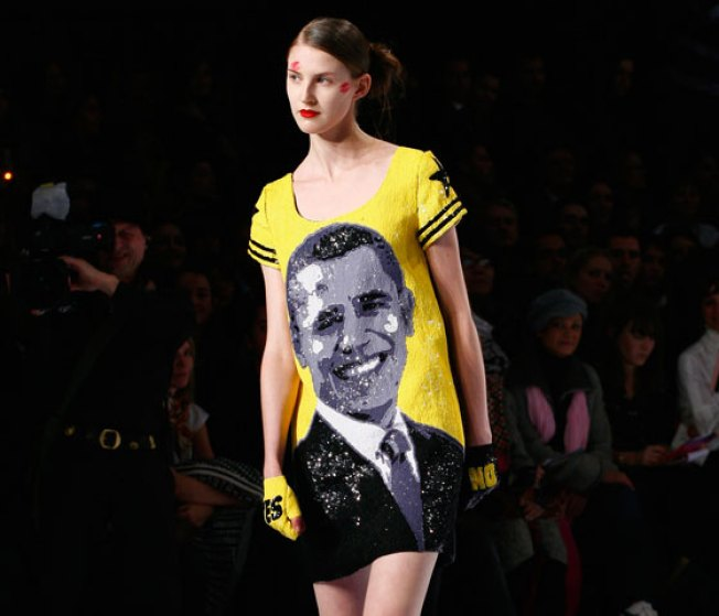 Barack Obama Debuts on the Paris Runway