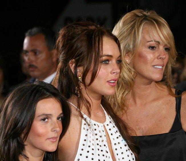 Scoop: Lindsay Lohan Shows Little Sis the Night Life