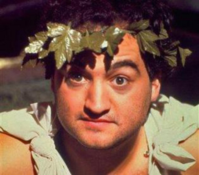Don a Toga for Belushi's Birthday