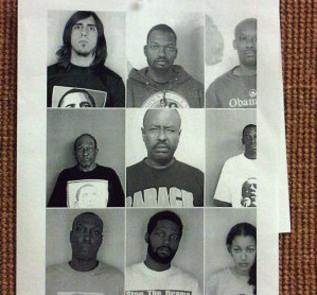Judge Posts Obama Supporters' Mug Shots