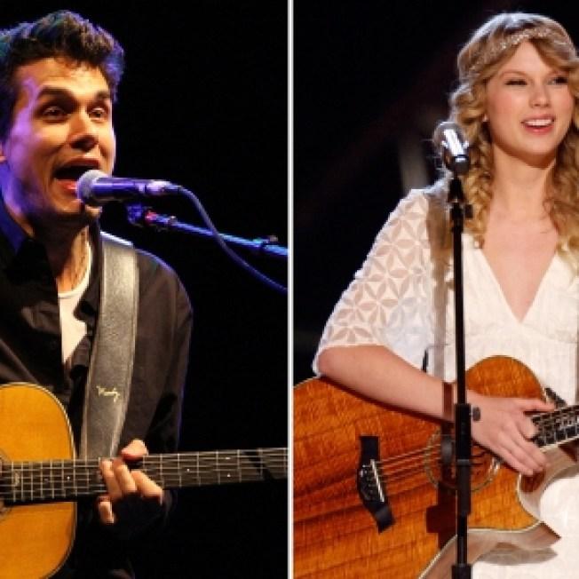 John Mayer Joins Taylor Swift On Stage In LA
