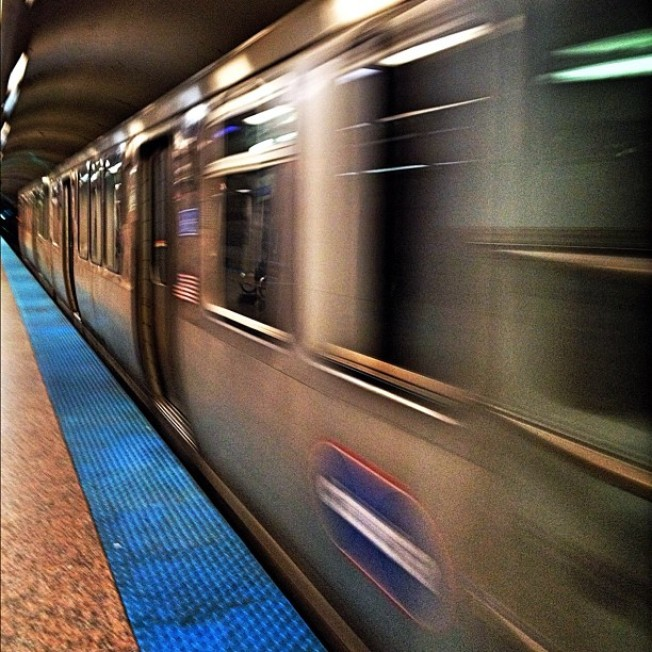 Rubbish Fire Delays Blue Line
