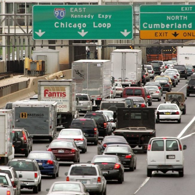 Chicago Has Worst Traffic in the U.S.: Study