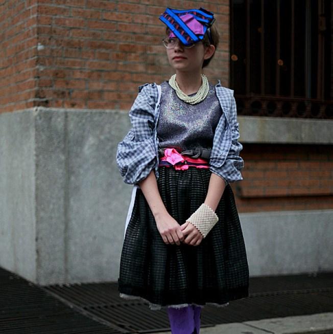 OMG, 13 y/o Chicago Kid Rox NY Fashion Week!