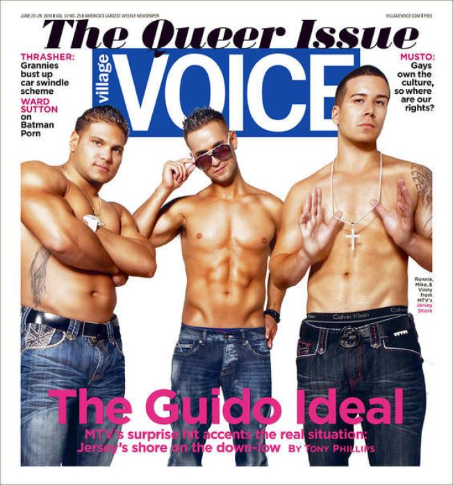 """Jersey Shore"" Cover Shoot Creates Queer Situation"