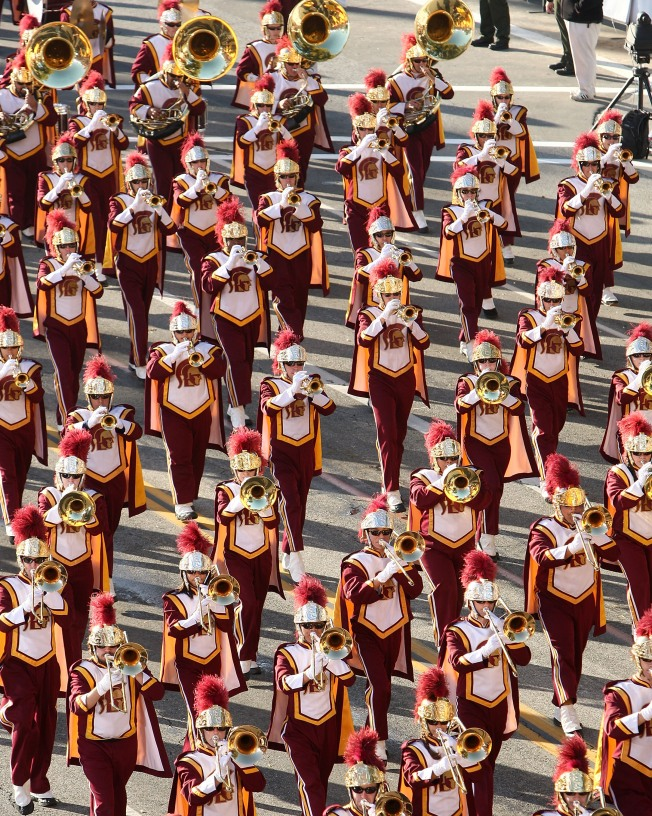 USC Marching Band Invades Chicago Again