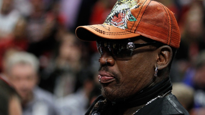 Tonight: Party With Dennis Rodman