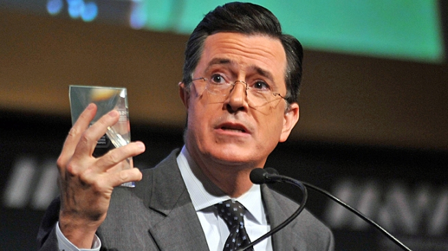 "Stephen Colbert: Buying Detergent, Electing a President ""Exactly the Same"""
