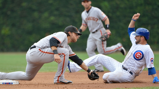 Lincecum, Nady Lead Giants Past Cubs