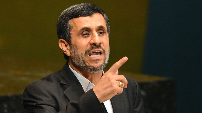 Ahmadinejad Slams U.S. in UN Address