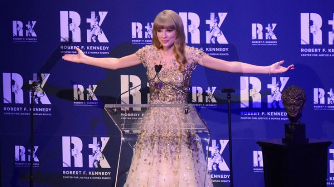 Taylor Swift Honored by the Kennedy Family in NYC