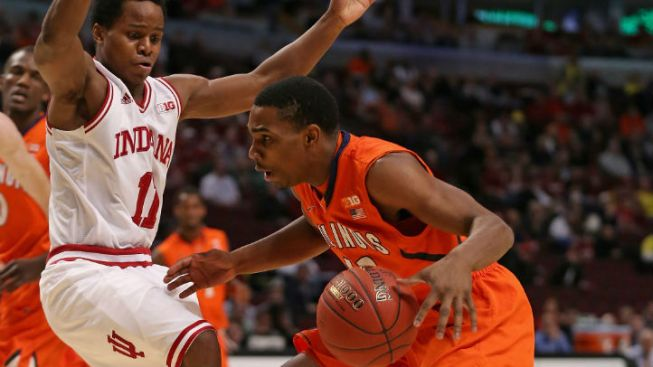 Illini Exit Early From Big Ten Tourney
