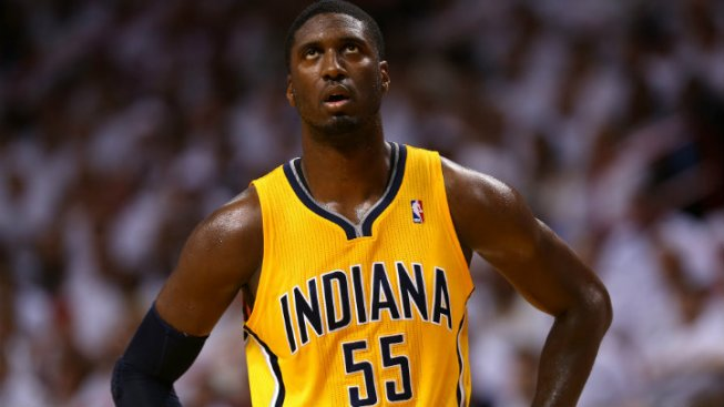 Pacers' Hibbert Fined for Comments