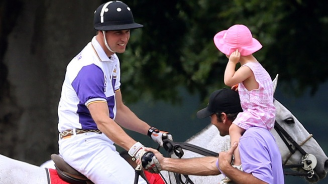 Prince William Plays Polo as Baby Watch Heats Up