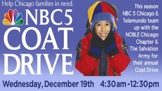 NBC Chicago, Organizations Collect Coats for Needy