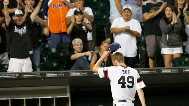 Sale Strikes out 12 as White Sox Beat Astros