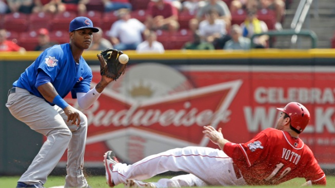 Cubs' Samardzija Gives Up 2 Homes in Team's Loss to Reds