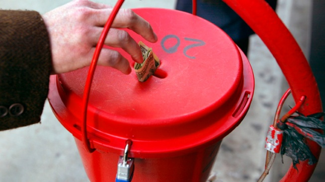 Anonymous Donor Drops $20,000 in Salvation Army Red Kettles