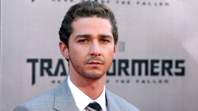 Shia LaBeouf Shooting Movie in Chicago