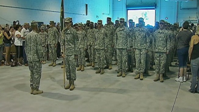 Military Police Company Heading to Afghanistan