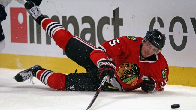 Anisimov Stays Home as Blackhawks Head to Montreal